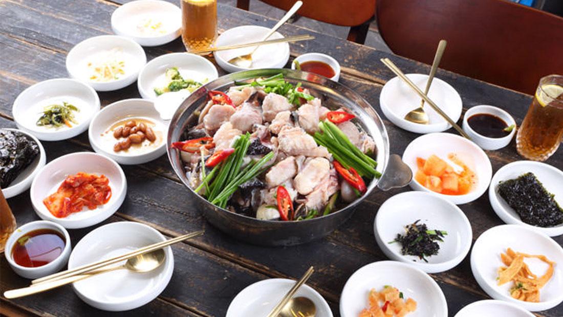 오다리집 명동맛집 메뉴 아구지리탕 odarijip Clear Monkfish Stew
