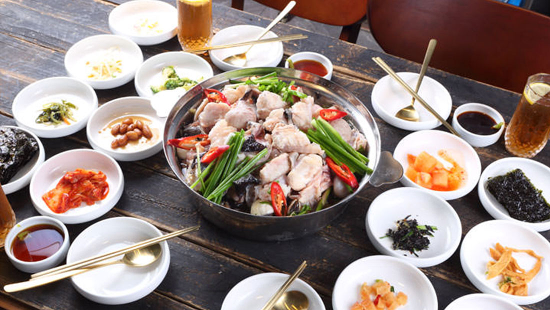 오다리집 명동맛집 아구해물탕 odarijip Clear Monkfish Stew